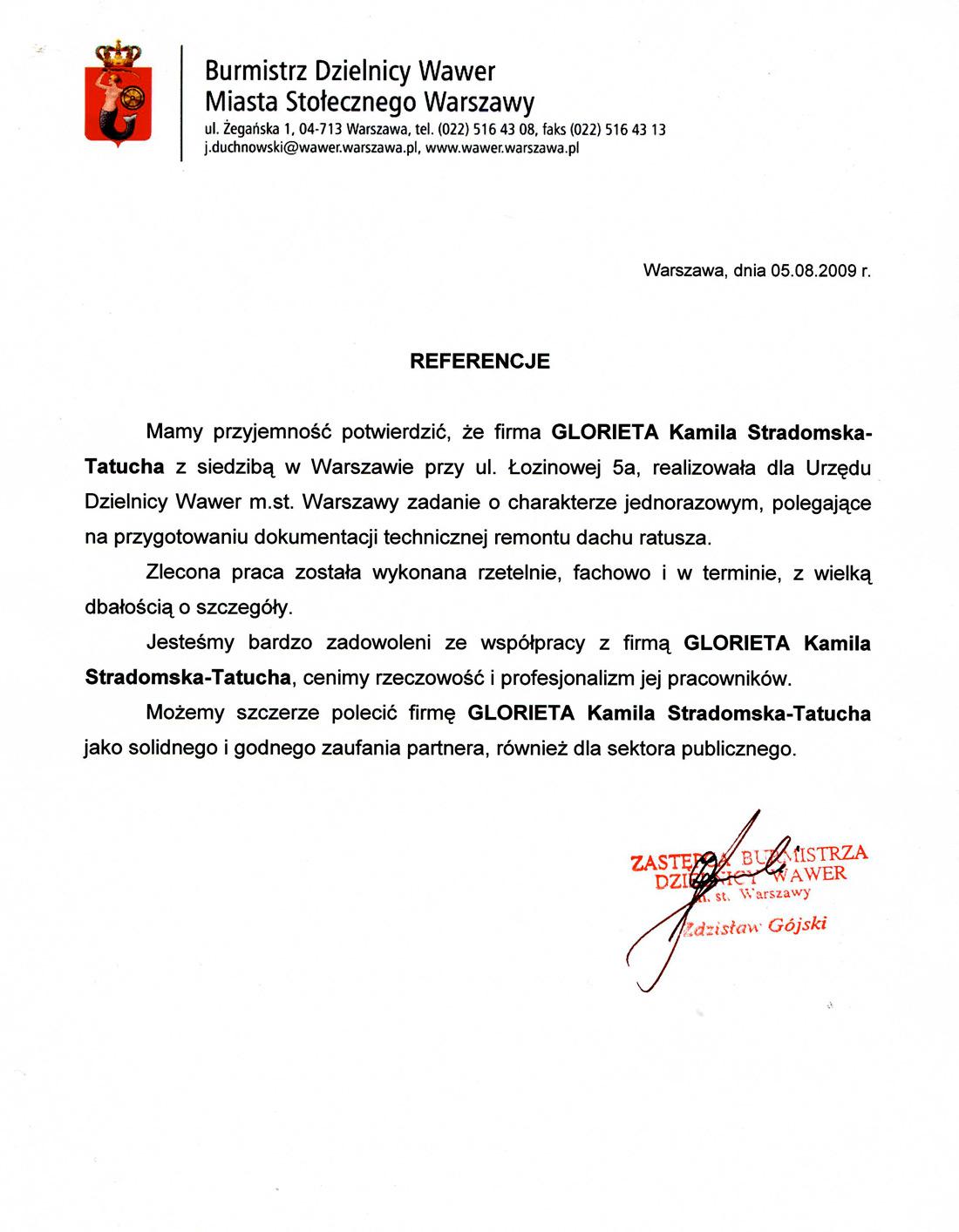 Referencje_Warszawa